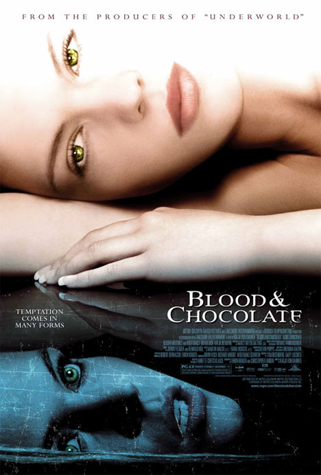 Blood and Chocolate Poster #1