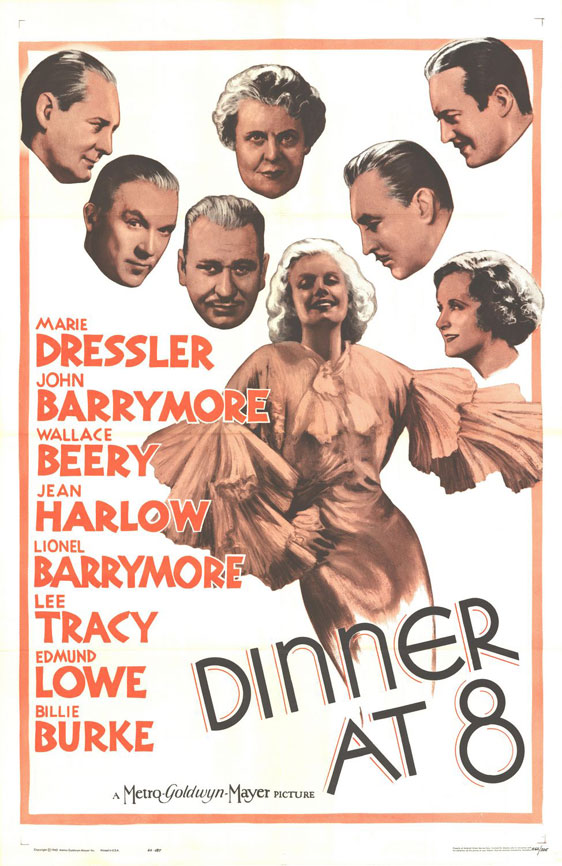 Dinner at Eight Poster #1