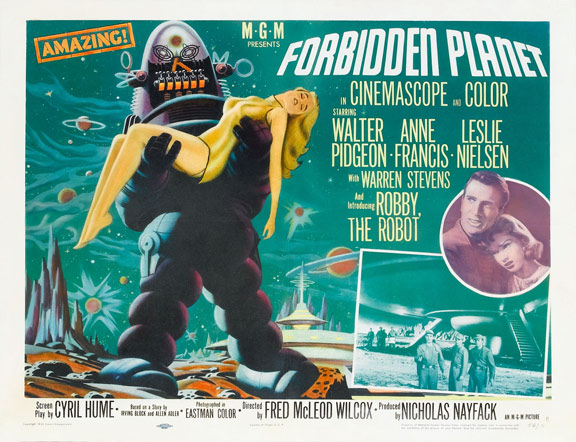Forbidden Planet Poster #3