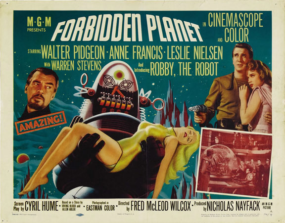 Forbidden Planet Poster #5