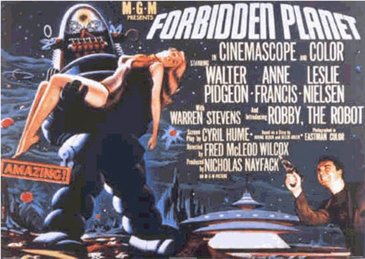 Forbidden Planet Poster #6