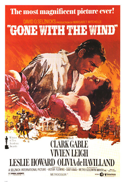 Gone with the Wind Poster #3