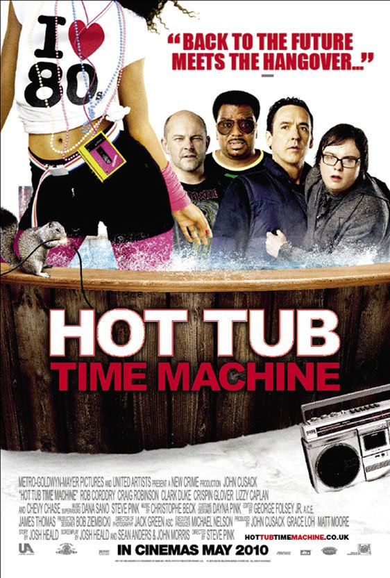 Hot Tub Time Machine Poster #3