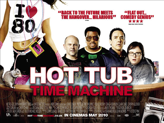 Hot Tub Time Machine Poster #4