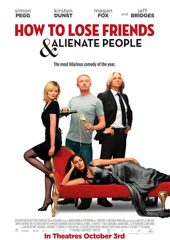 How to Lose Friends & Alienate People Poster #3