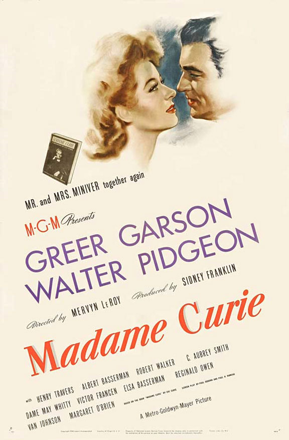 Madame Curie Poster #1