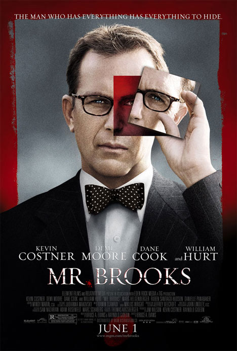 Mr. Brooks Poster #1