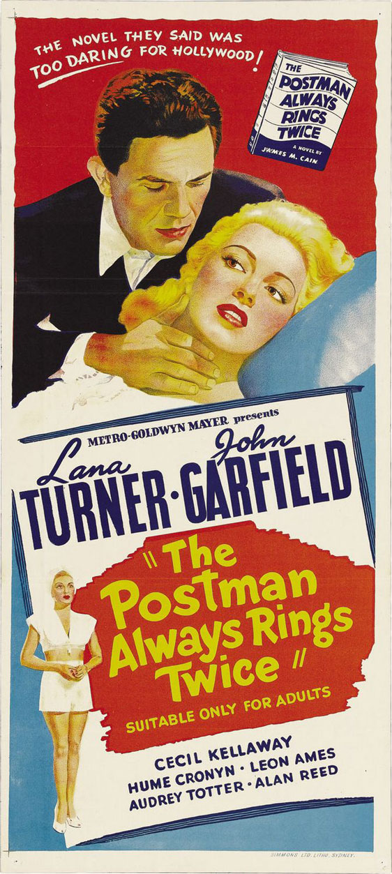 The Postman Always Rings Twice Poster #3