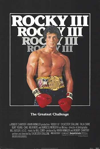 Rocky III Poster #1