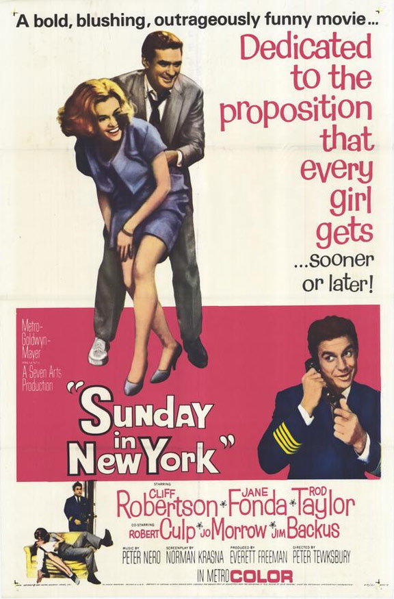 Sunday in New York Poster #2