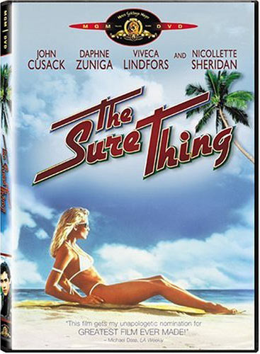 The Sure Thing Poster #2