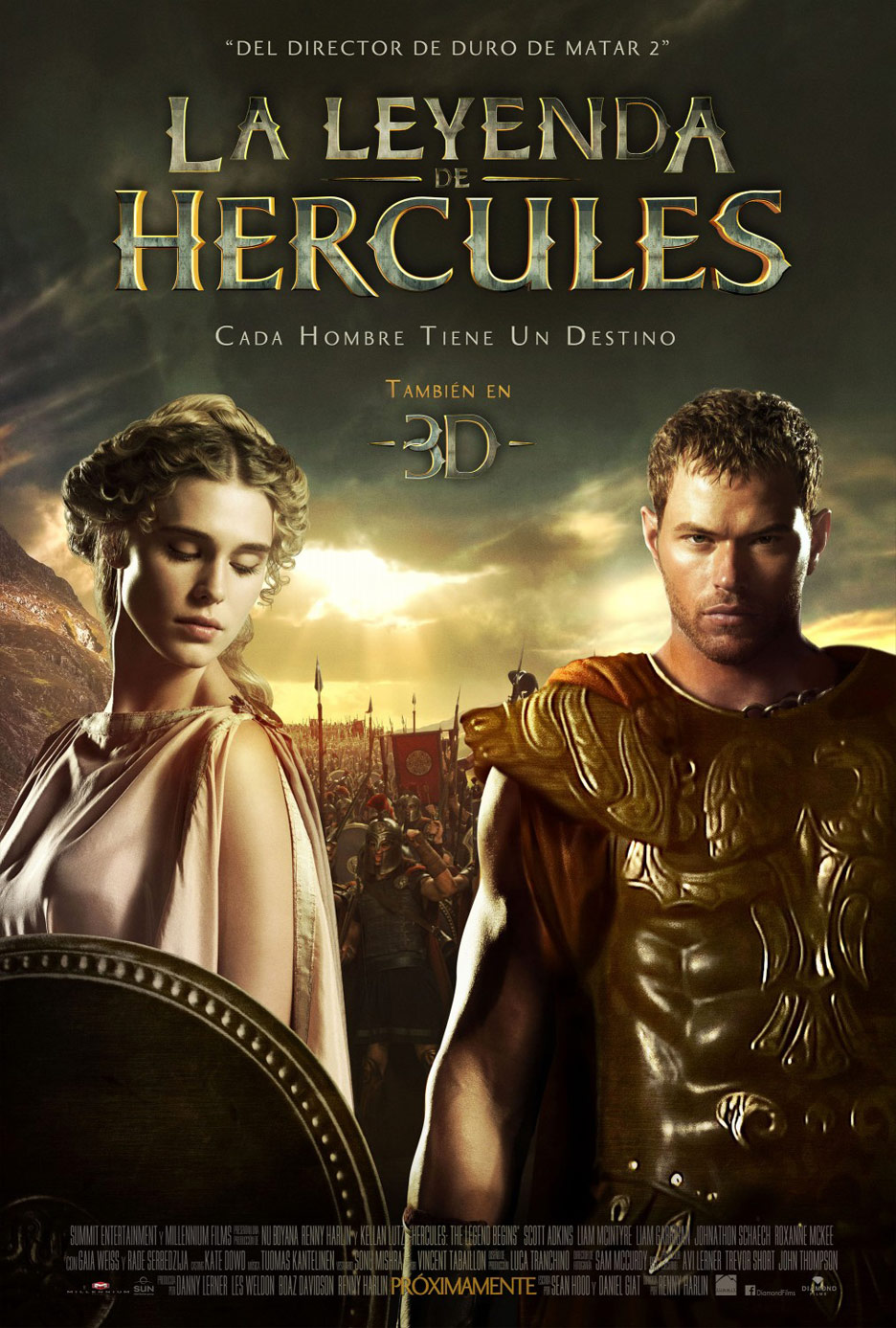 The Legend of Hercules Poster #7