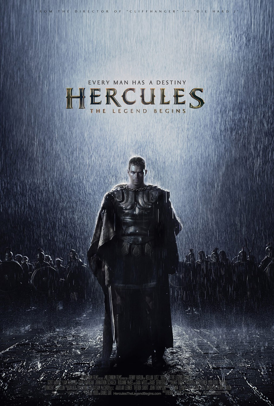 The Legend of Hercules Poster #1