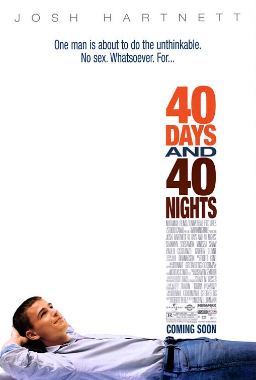 40 Days and 40 Nights Poster #1