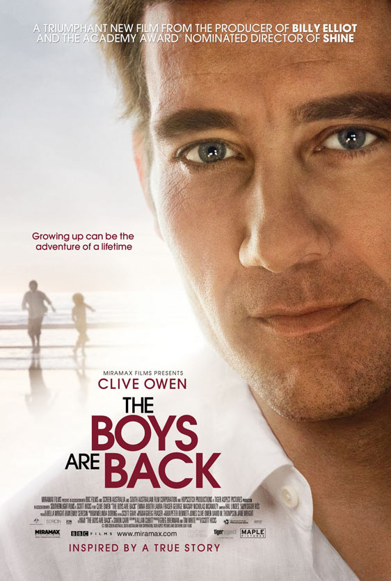 The Boys Are Back Poster #1