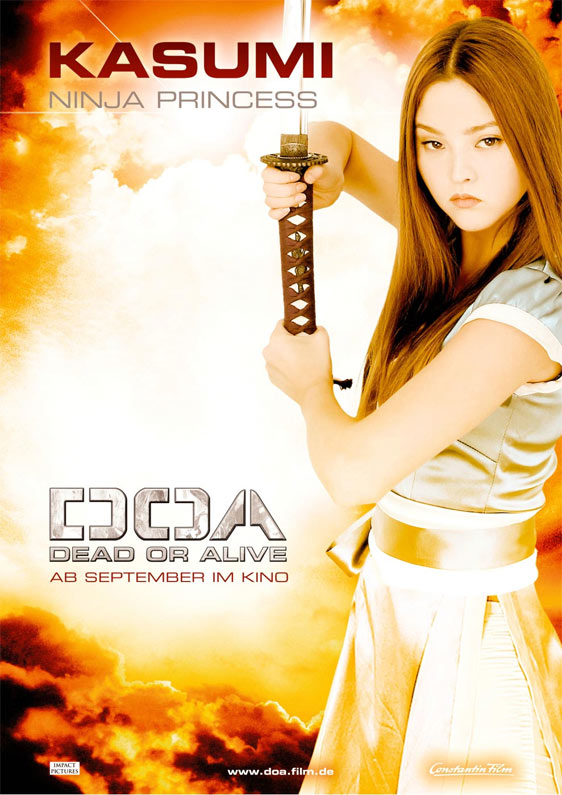 DOA: Dead or Alive Poster #4
