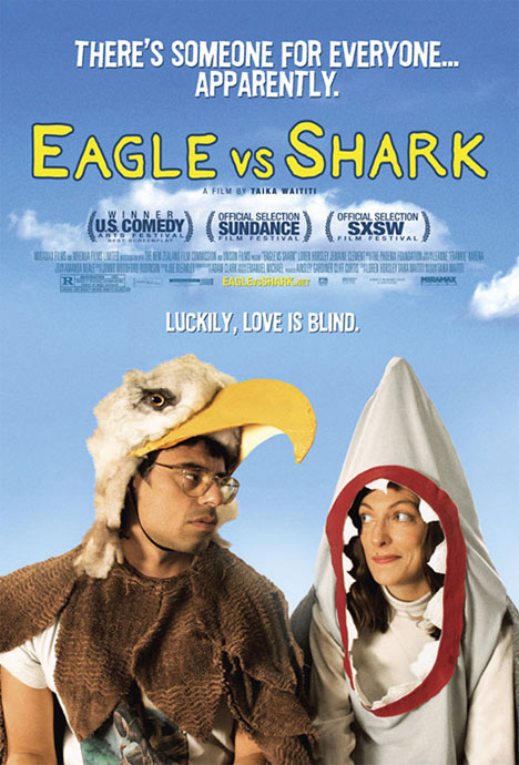 Eagle vs Shark Poster