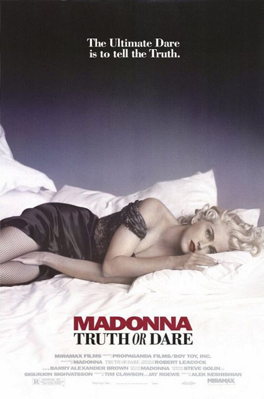 Madonna: Truth or Dare Poster