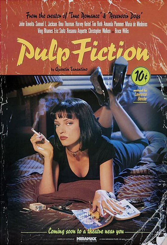 Pulp Fiction Poster #1