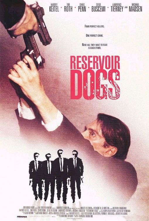 Reservoir Dogs Poster #1