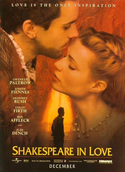 Shakespeare In Love Poster #1