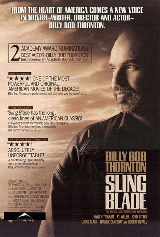 Sling Blade Poster #2
