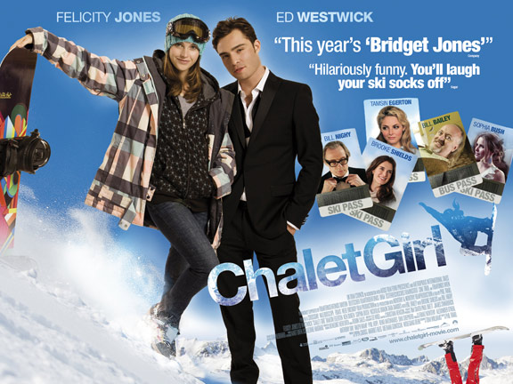 Chalet Girl Poster #2