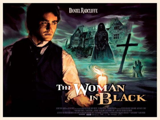 The Woman in Black Poster #7