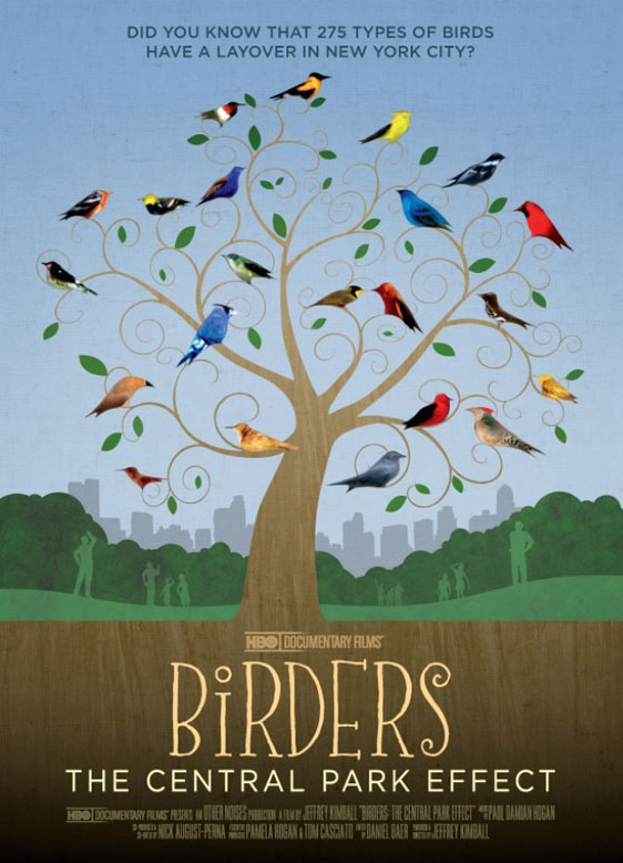 Birders: The Central Park Effect Poster