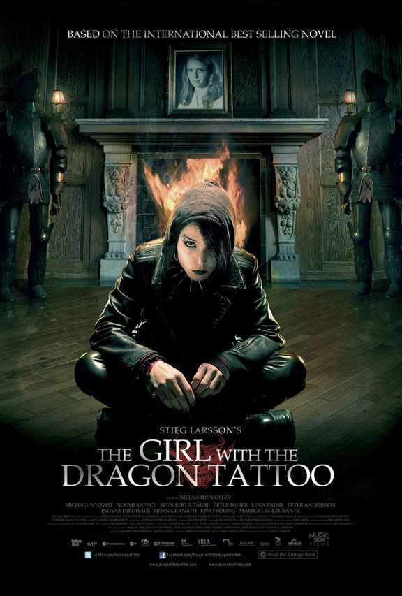 The Girl With The Dragon Tattoo (Män som hatar kvinnor) Poster #6