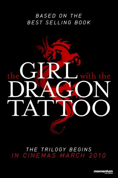 The Girl With The Dragon Tattoo (Män som hatar kvinnor) Poster