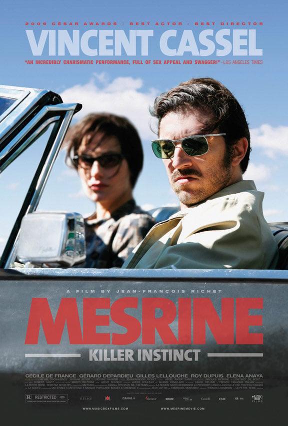 Mesrine: Killer Instinct Poster #2