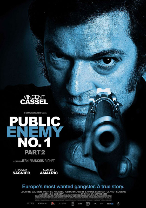 Mesrine: Public Enemy #1 Poster #3