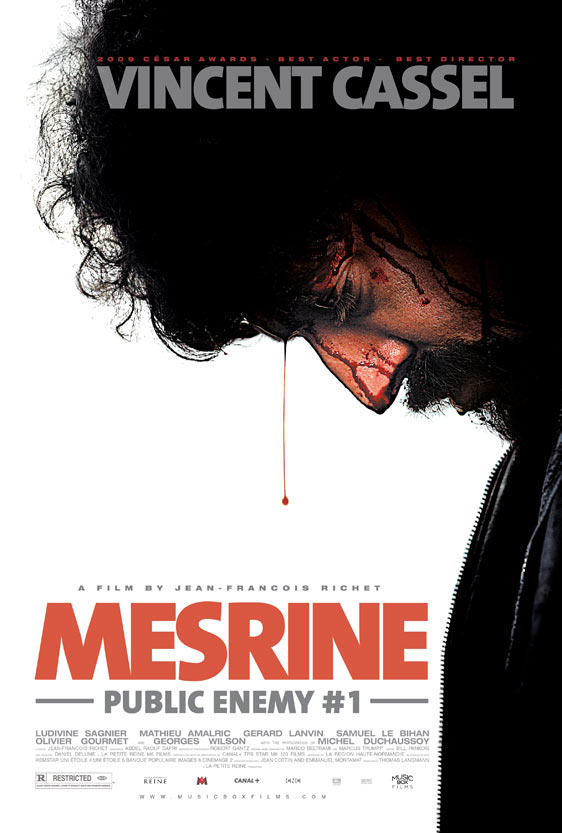 Mesrine: Public Enemy #1 Poster #1