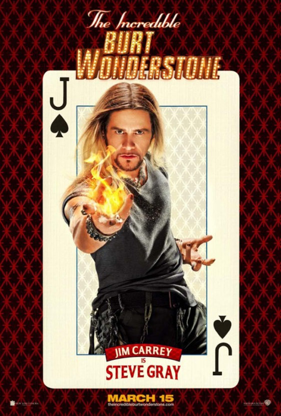 The Incredible Burt Wonderstone Poster #2