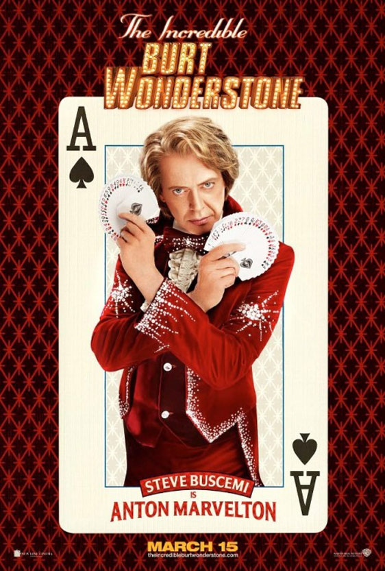 The Incredible Burt Wonderstone Poster #3