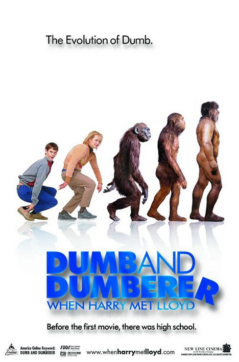 Dumb and Dumberer: When Harry Met Lloyd Poster #1