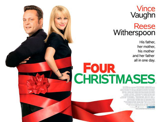 Four Christmases Poster #2