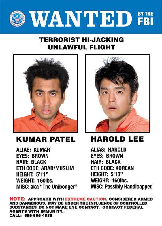 Harold & Kumar Escape from Guantanamo Bay Poster #2