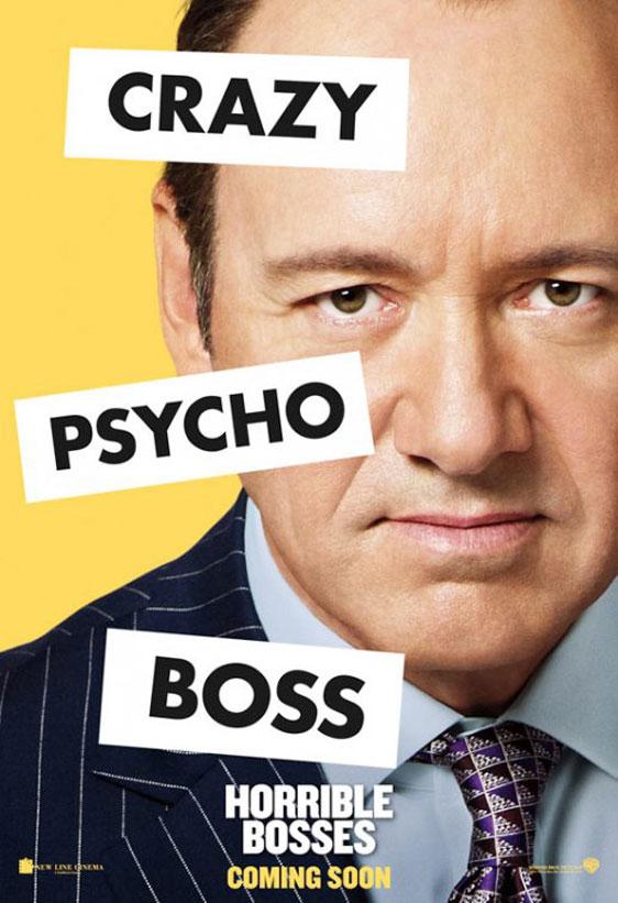 Horrible Bosses Poster #10