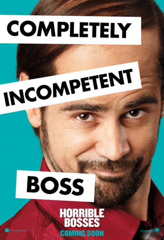 Horrible Bosses Poster #12