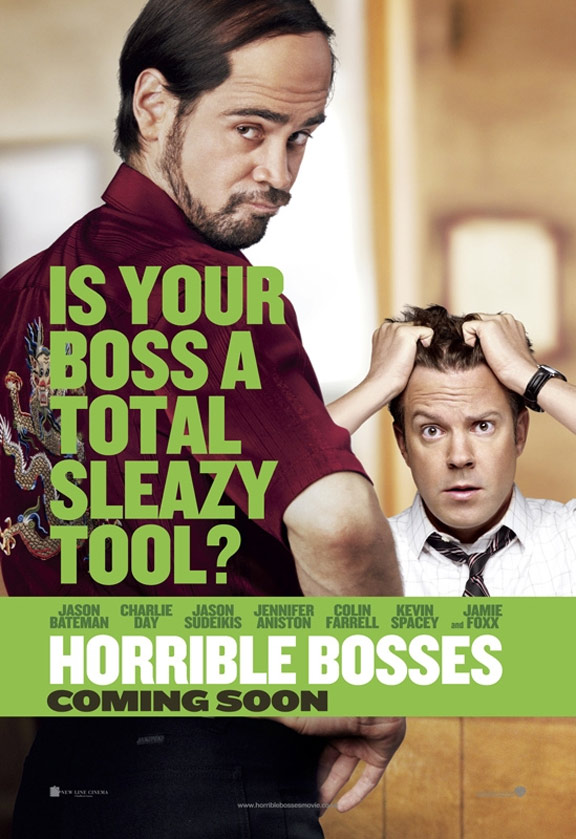 Horrible Bosses Poster #2