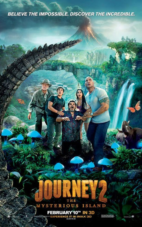 Journey 2: The Mysterious Island Poster #2
