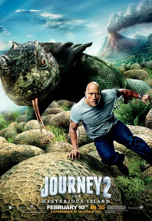 Journey 2: The Mysterious Island Poster #3
