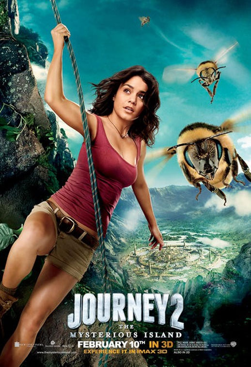 Journey 2: The Mysterious Island Poster #4