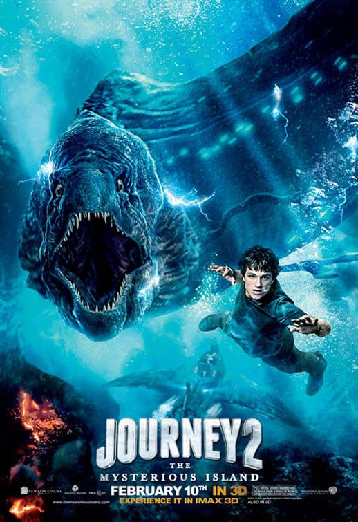 Journey 2: The Mysterious Island Poster #5