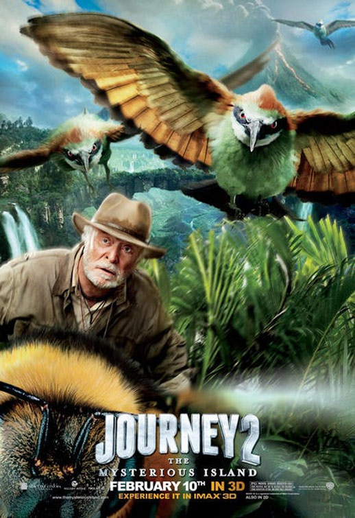 Journey 2: The Mysterious Island Poster #6