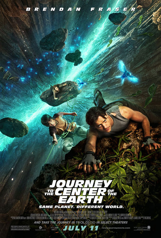 Journey to the Center of the Earth 3D Poster #2