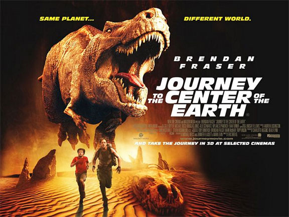 Journey to the Center of the Earth 3D Poster #4