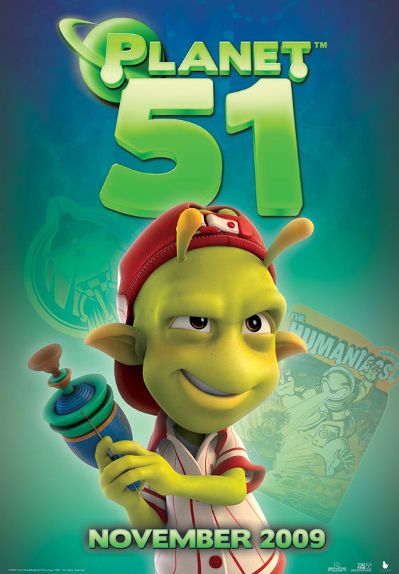 Planet 51 Poster #12